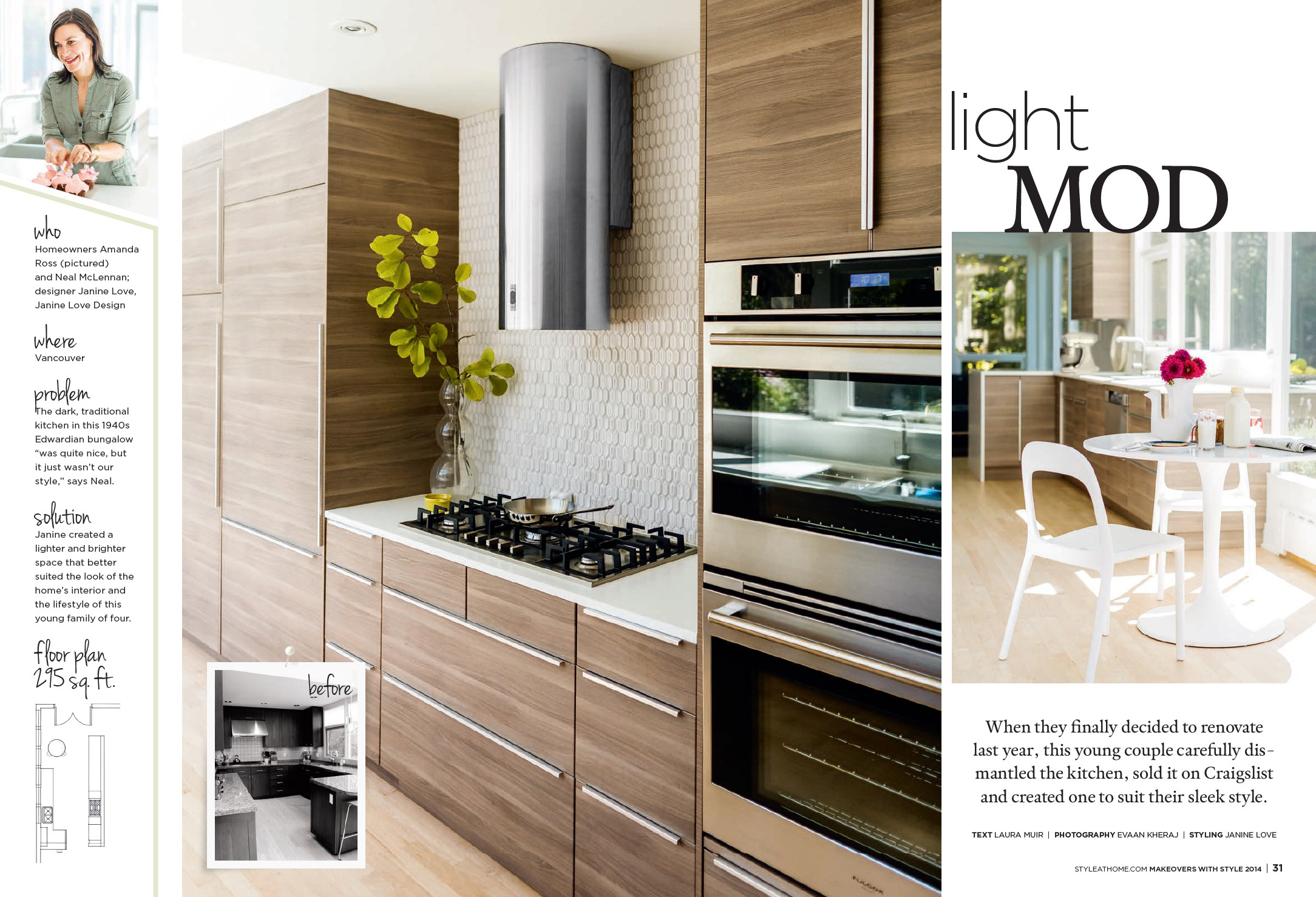 Janine love design style at home magazine for Home style subscription
